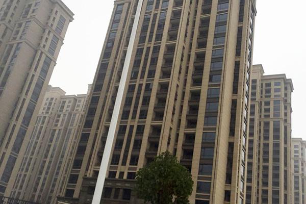 亚新集团橄榄城5号院项目保温真石漆