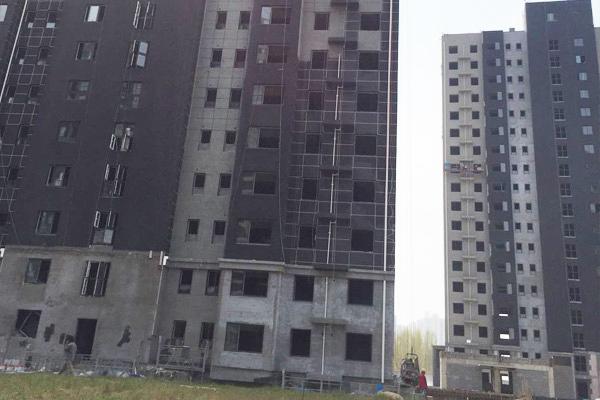 郑州中牟安置区真金板保温真石漆项目